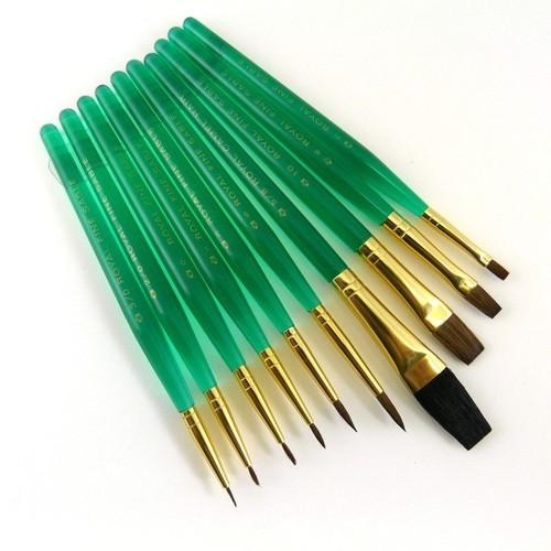 Sable Camel Paint Brush Set of 10