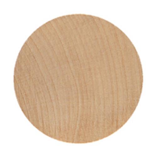 "Wooden Circle/Disc - 3"" x 1/8"""