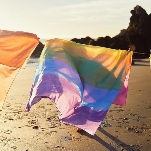 Cotton Playcloth - Rainbow