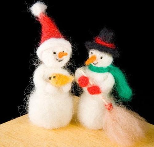 Woolpets Snowmen Kit - Easy