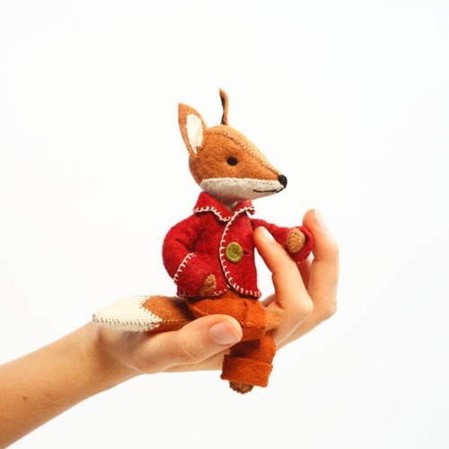 Felt Sewing Kit - Felix the Fox