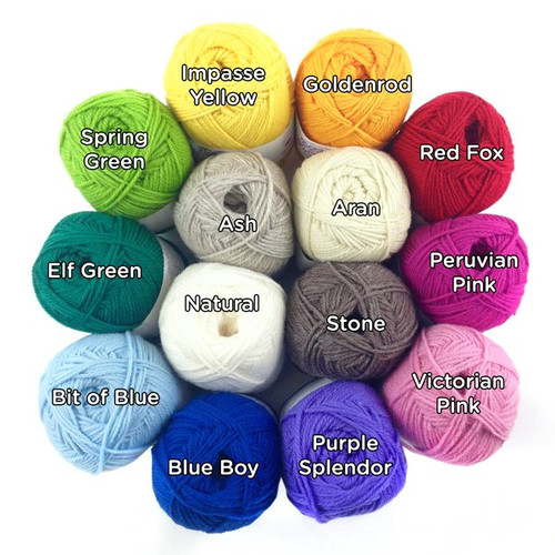 Nature Spun Wool Yarn - Sport Weight