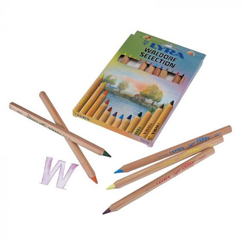 Lyra Waldorf Selection Colored Ferby Pencils