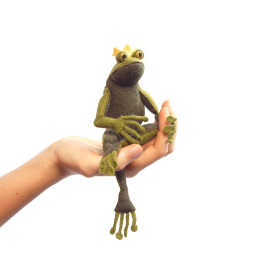 Felt Sewing Kit - Frog Prince