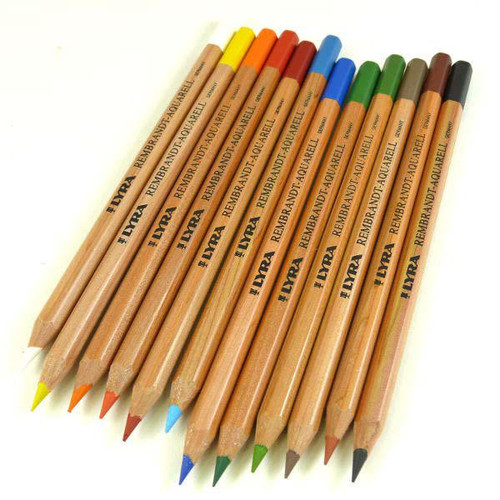 Lyra Rembrandt Aquarell Pencils - set of 12