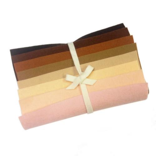 Holland Wool Felt Collection - Skin Tones