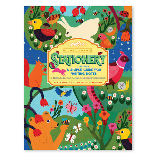 In the Meadow Stationery Set + Note Writing Guide