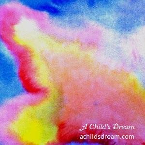 Waldorf Wet on Wet Watercolor Example 1