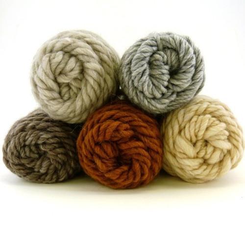 Lamb's Pride Wool Yarn - Heathered Animal Colors