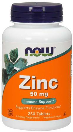 Now Zinc 50 MG Bottle
