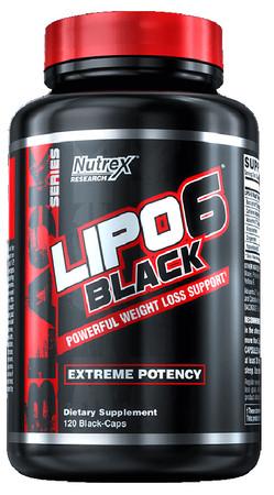Nutrex Research LIPO-6 Black Bottle