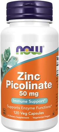 Now Zinc Picolinate 50 mg bottle