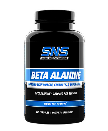 SNS Beta Alanine Bottle