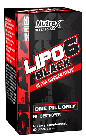 Nutrex Research LIPO-6 Black Ultra Concentrate