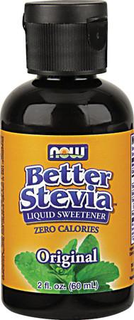 Now Stevia Liquid Extract Bottle