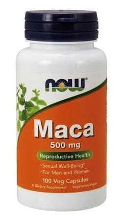 Now Maca 500mg Bottle