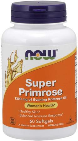 Now Super Primrose 1300 mg Bottle