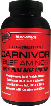 MuscleMeds Carnivor Beef Aminos Bottle