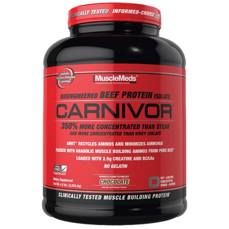 MuscleMeds Carnivor Beef Protein Bottle