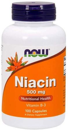 Now Niacin 500 mg bottle