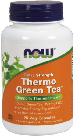 Now Thermo Green Tea bottle