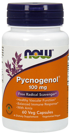 Now Pycnogenol 100 mg Bottle
