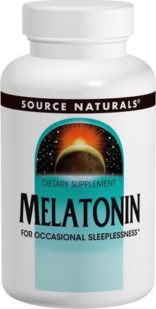 Source Naturals Melatonin 3mg
