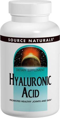 Source Naturals Hyaluronic Acid Bottle