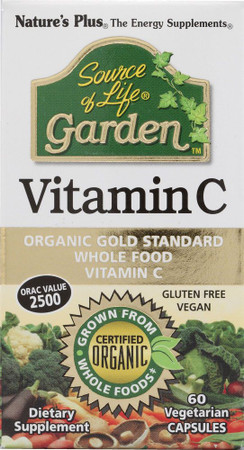 Nature's Plus Source of Life Garden Vitamin C Bottle