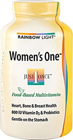 Rainbow Light Women's One Multivitamin Bottle