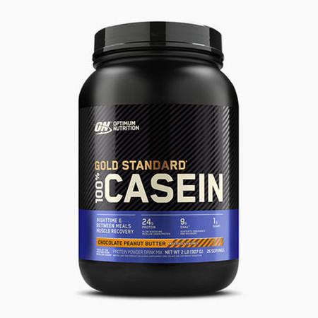 Optimum Nutrition 100% Casein Protein Bottle