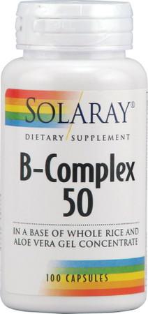 Solaray B-Complex 50 Bottle