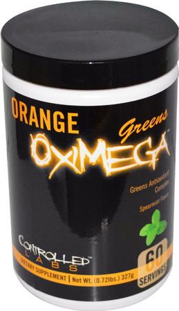 Controlled Labs Orange OxiMega Greens Bottle