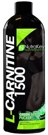 NutraKey Liquid L-Carnitine 1500