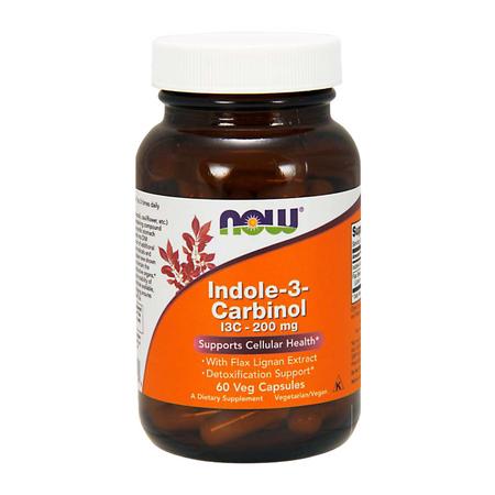 Now Indole-3-Carbinol Bottle