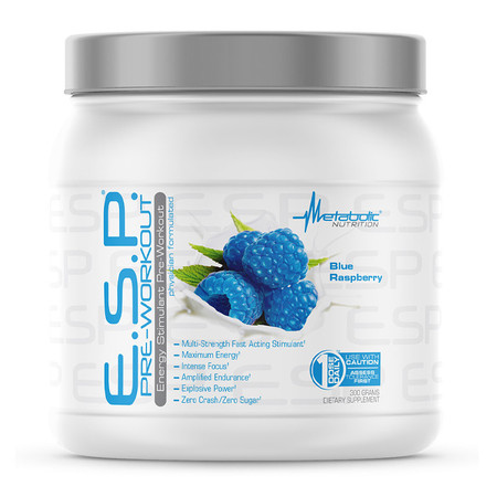 Metabolic Nutrition E.S.P. Pre Workout Bottle