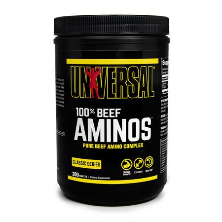 Universal Nutrition 100% Beef Aminos Bottle