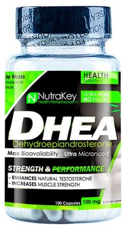 NutraKey DHEA 100 mg Bottle