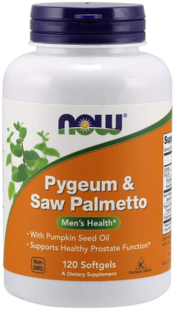 Now Pygeum & Saw Palmetto bottle