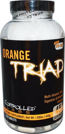 Controlled Labs Orange Triad Bottle