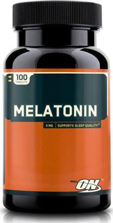 Optimum Nutrition Melatonin 3 MG Bottle