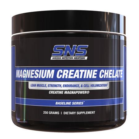 SNS Magnesium Creatine Chelate Bottle
