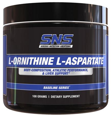 SNS L-Ornithine L-Aspartate Bottle