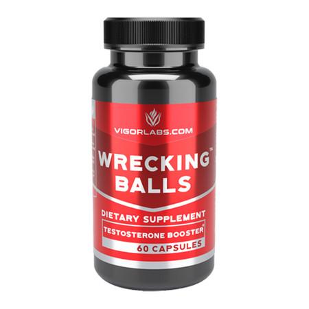 Vigor Labs Wrecking Balls Bottle