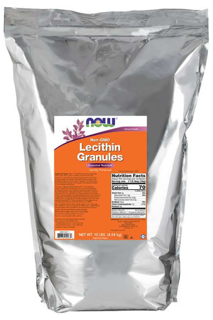 Now Lecithin Granules Non-GMO Pack