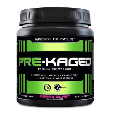 Kaged Muscle Pre-Kaged Bottle