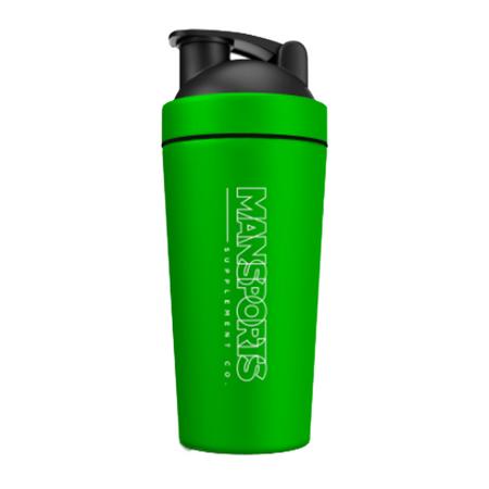 MAN Sports Metal Shaker Cup Bottle