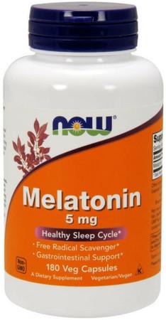 Now Melatonin 5mg bottle