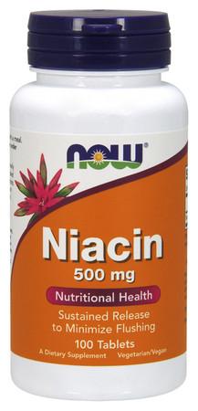 Now Niacin 500 mg 1 Bottle