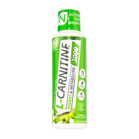 NutraKey Liquid L-Carnitine 3000 Bottle